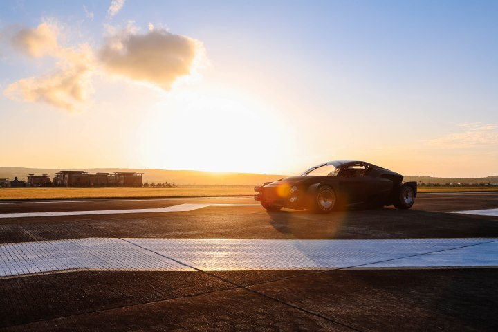 MEET MISS R: THE RALLY-INSPIRED ELECTRICSUPERCAR
